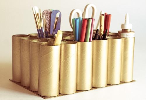 Resultado de imagem para artesanato com rolinho de papel higiênico