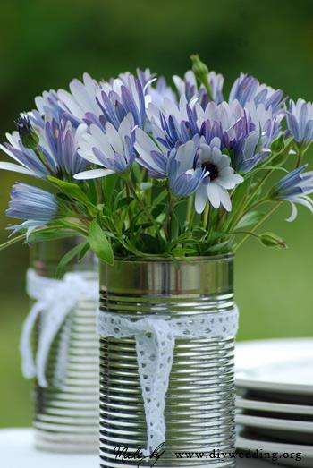 tin-can-vase