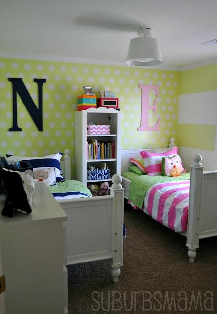 quarto de meninos e menina