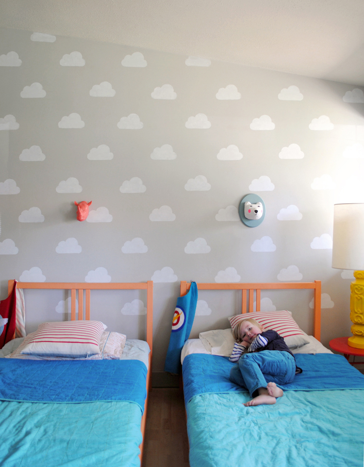 Pintando Nuvens Nas Paredes Recicla Design