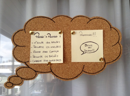 Painel de Cortiça - ReciclaDesign